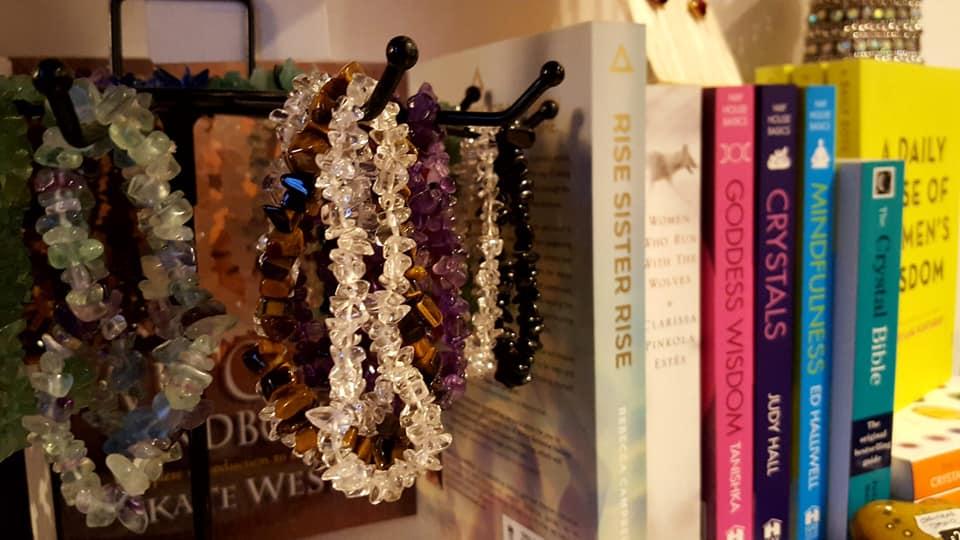 Jewellery and books
