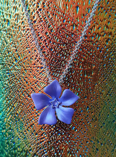 Faith in Nature - Periwinkle Necklace