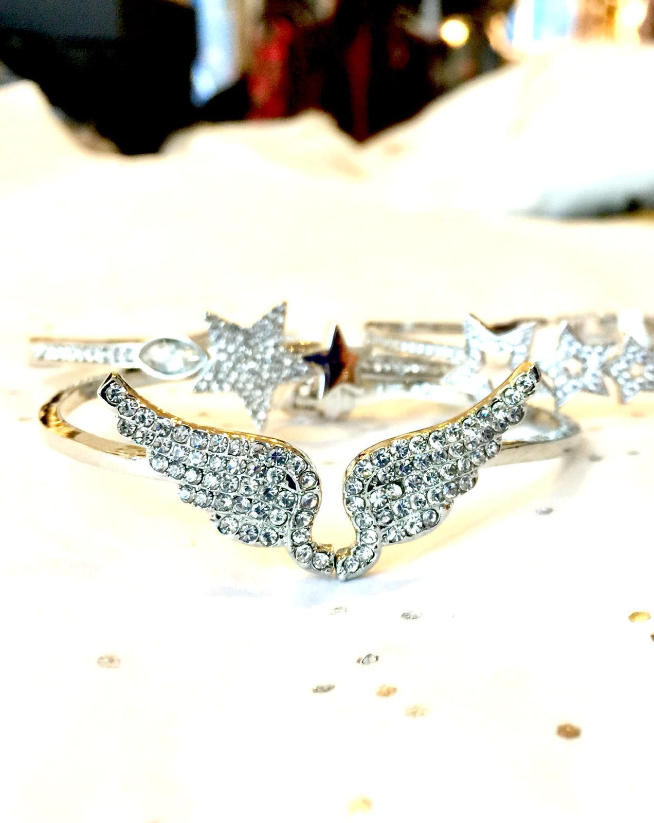 An angel brooch