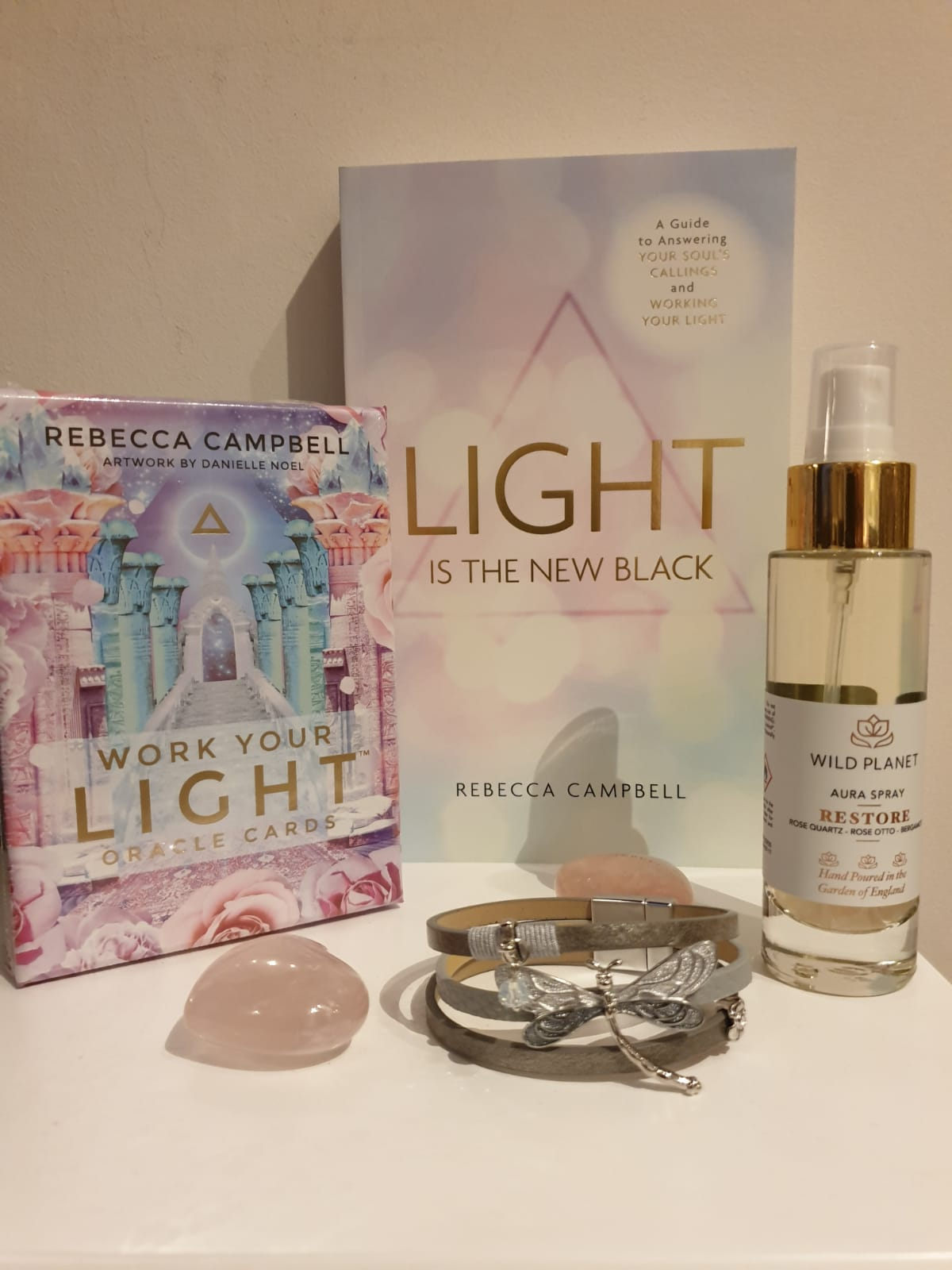 Light Is The New Black Book & Work You Light Oracle Cards