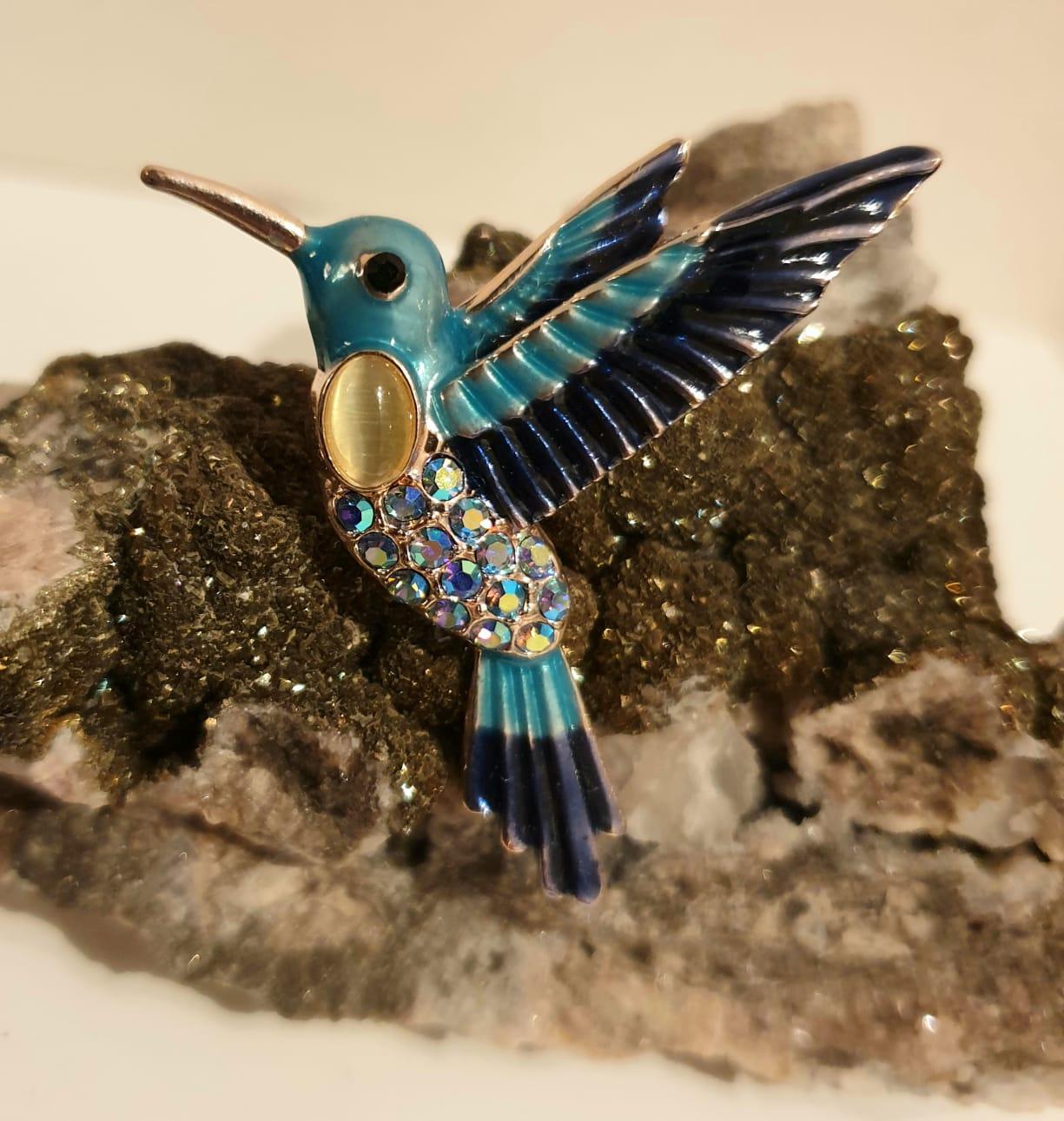 The Hummingbird Brooch