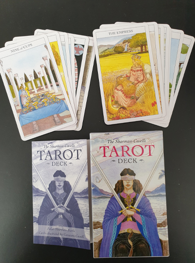 The Sharman Caselli Tarot Deck