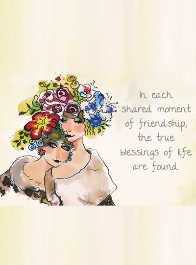 Inspirational Cards - 'Shared Moment'