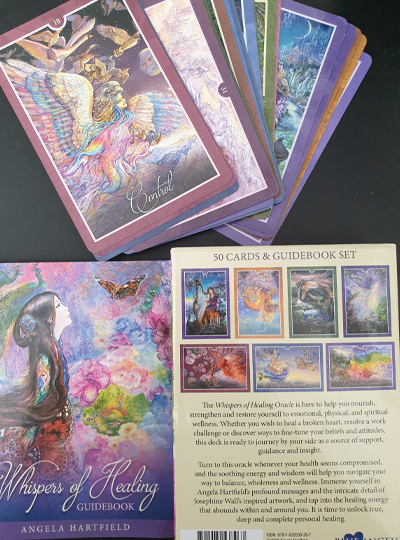 Whispers of Healing Oracle Cards - Angela Hartfield & Josephine Wall